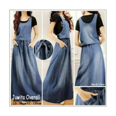 SB Collection Dress Maxi Tania Longdress Jeans Overall Wanita