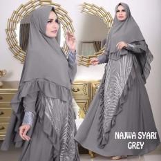 Situs Review Sb Collection Gamis Muslim Bilqis Syarii Dress Maxi Terusan Wanita