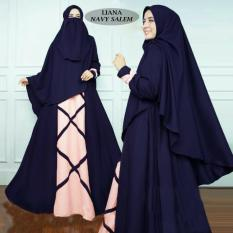 SB Collection Gamis Muslim Sarah Syarii Dress Maxi Terusan Wanita