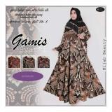 Harga Sb Collection Maxi Dress Syari Alila Batik Gamis Dan Jilbab Coklat Merk Sb Collection