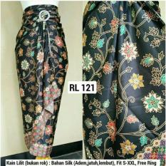 Jual Sb Collection Rok Lilit Batik Hikaru Hitam Satu Set