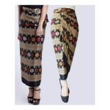 Harga Sb Collection Rok Lilit Maxi Sidarta Batik Hitam