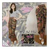 Toko Sb Collection Rok Maxi Lilit Kikan Batik Long Skirt Hitam Sb Collection
