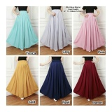 Beli Sb Collection Rok Maxi Payung Sixshine Long Skirt Abu Banten