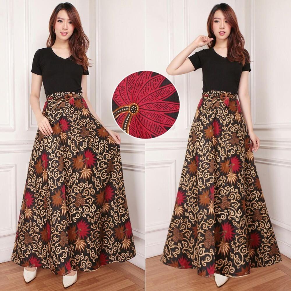 Panjang 92cm SB Collection Rok Payung Adhira Maxi Batik Wanita