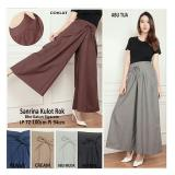 Sb Collection Celana Sanrina Kulot Pant Navy Murah