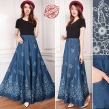 Spesifikasi Sb Collection Rok Payung Phobee Jeans 02 Merk Sb Collection