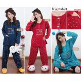 Sb Collection Stelan Baju Tidur Jumbo Treasure Piyama Navi Sb Collection Diskon 50
