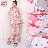 Beli Sb Collection Stelan Baju Tidur Muray Piyama Import Merah Pakai Kartu Kredit