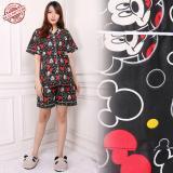 Spesifikasi Sb Collection Stelan Baju Tidur Moo Import Piyama Hitam Dan Harga