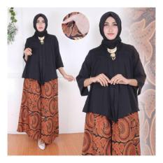 Ulasan Tentang Sb Collection Stelan Batik Anandha Blouse Dan Kulot Batik Hitam