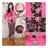 Harga Sb Collection Stelan Kebaya Batik Harmoni Blouse Kutubaru Dan Rok Lilit Fucshia Asli Sb Collection