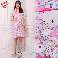 Sb Collecttion Baju Tidur Kitiro  Piyama Import Daster Dress -Pink