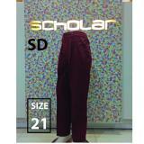Harga Scholar Seragam Sekolah Celana Sd Panjang Merah Size 21 Termurah