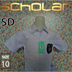Jual Scholar Seragam Sekolah Kemeja Putih Pendek Katun Sd No10