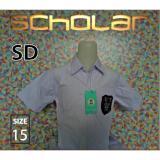 Ongkos Kirim Scholar Seragam Sekolah Kemeja Putih Pendek Katun Sd No15 Di North Sumatra