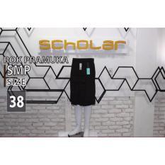 Kualitas Scholar Seragam Sekolah Pramuka Rok Smp Pendek Nomor 38 Scholar
