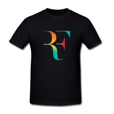 SEagleo2 Men's Roger Federer RF Logo New Design T-Shirt Sizes S-3XL - intl