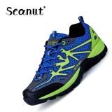 Harga Seanut Hiking Sepatu Kekasih Sepatu Fashion Bernapas Olahraga Sepatu Berongga Biru Muda Yg Bagus