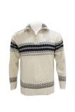 Harga Seasons Turtleneck Wool Sweater Beige Branded