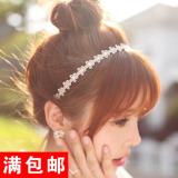 Spesifikasi Sederhana Kain Kecil Daisy Bando Jepitan Rambut Yang Bagus Dan Murah