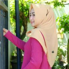 Segi Empat Katun Polos | Kerudung |square Hijab