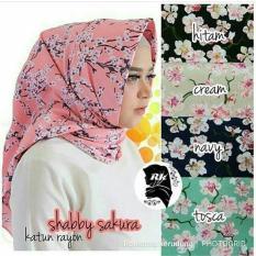 Segi Empat Shaby Chic 8 Hijab Khimar