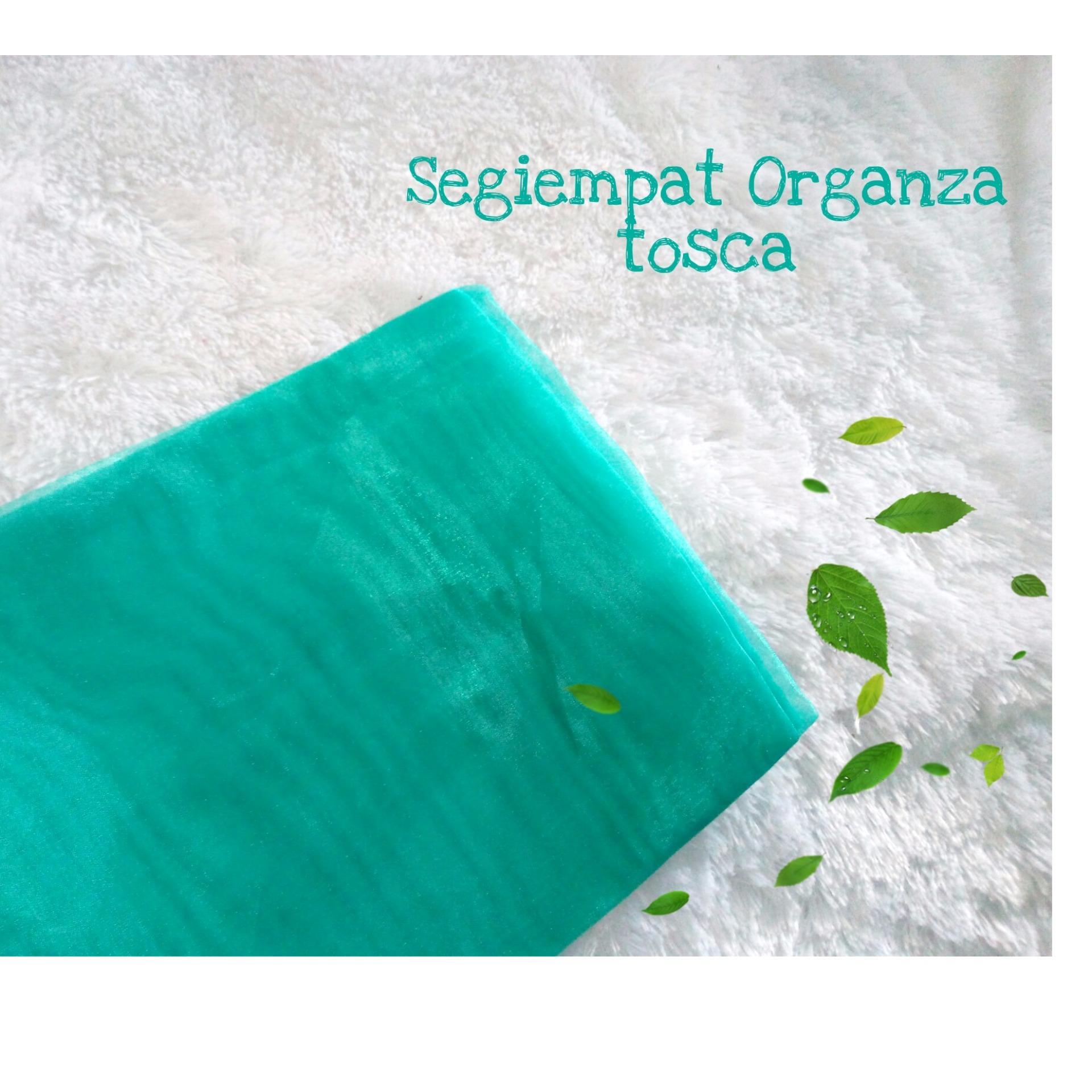 Segiempat Organza Premium / Organdi / Kain Kaca - tukiyem13