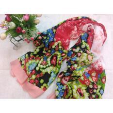 Selendang Sifon Shawl Selendang Zoya Zalora Selendang Pria Selendang Wanita Shawl Pria Pashmina Shawl Scarf Scarves Cantiki Premium Pink