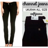 Jual Semi Jeans Black Denim Branded Original