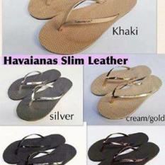 Sendal Jepit Havaianas Slim Leather Women