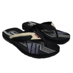 Sendal Jepit - Sendal Pantai - Sandal Gunung - Sandal Jepit Carvil Tigris In Nude - Size 41