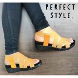 Jual Sendal Karet Wanita Sepatu Sandal Coklat Muda Department Store Online