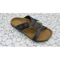 SENDAL / SANDAL FOOTBED TERLARIS CARVIL ERNEST-02L DK.BROWN 100%ORIGINAL