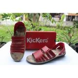 Spesifikasi Sendal Tali Wanita Kickers Simple Motif Merk Kickers