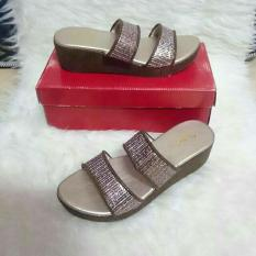 sendal wedges fladeo size 37