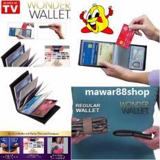 Ulasan Lengkap Seniora S Wonder Leather Wallet Dompet Kartu Nama Hitam