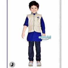 Harga Hemat Senshukei Koko 3 In 1 Ivory Wool Blue Plus Vest