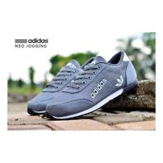 Obral Sepatu Adidas Neo Jogging Cewek Cowok Termurah Murah