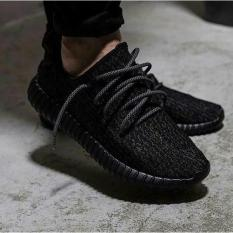 Sepatu Adidas Yeezy Import Original  Boost 350 Black Pirate - Dusgzv