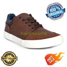 Sepatu Pria Casual Sneaker Airwalk Helson 16PVM1082 - Brown