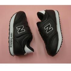 sepatu anak anak sekolah nb hitam putih