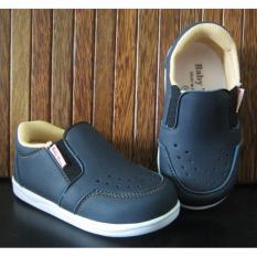 Beli Sepatu Anak Baby Wang Juno Black Online Murah