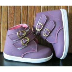 Harga Sepatu Anak Babywang Venesia Purple Umur 1T 3T Baby Wang Baby Wang Original