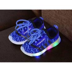 Jual Sepatu Anak Import Led Blue Di Bawah Harga