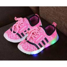 Sepatu Anak Import Led – Pink