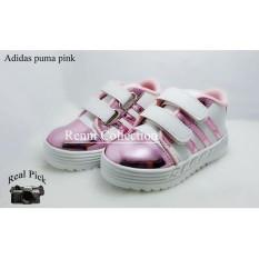 sepatu anak kids sport pink