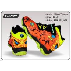 Toko Sepatu Anak Laki Laki Sevenray Ultron Hitam Orange Online Terpercaya