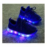 Model Sepatu Anak Led Biru Lucu Terbaru