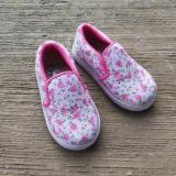 Harga Sepatu Anak Perempuan Motif Bunga Kecil Slip On Lucu By Shuku Terbaru